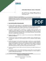 Edital Prefeitura de Florianópolis