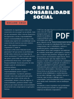 O RH e a Responsabilidade Social