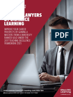 MBA for Lawyers Brochure
