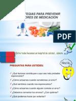 Estrategias Para Prevenir Errores de Medicacion Cc