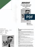 Huapon Manual
