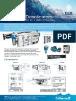 HEM Series 20 Desalinator Data Sheet