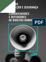 Guia de Protecao e Seguranca Para Comunicadores e Defensores de Direitos Humanos