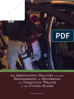 The Immigration Dragnet and the Dispossession of Household and Community Wealth in the United States