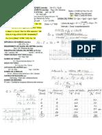 Riego formulas