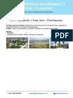 Chachapoyas 4d3n Economico via Jaen