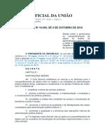 Diário Oficial Da União - Lgpd Decreto