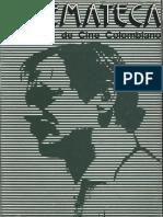 Cuadernos del Cine Colombiano No. 3 - Septiembre - 1981- Francisco Norden
