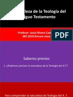 La naturaleza de la Teología del A.T.SBT.2019.Tercera clase.pptx