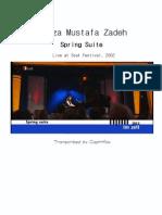 Aziza Mustafa Zadeh - Spring Suite
