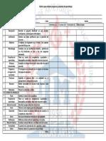Rúbrica Para Evaluación de Proyectos y Sesiones de Aprendizaje