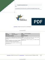 Planificacion Primer Semestre Matematica 1basico 2011 Forma b