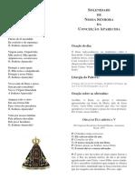 MISSA NOSSA SENHORA APARECIDA LIMA PERU.docx