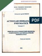 Actionari Hidraulice Si Pneumatice D.prodAN