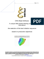 DNA Blast Software Inside