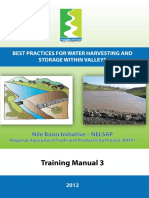 Practices of Rainwater Harvesting in Valleys