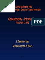geochemestry