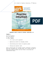 CIG to Psychic Intuition Chapter 1