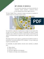 Articulos Shampoo y Jabon de Manzanilla