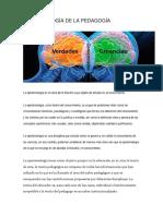 Episteologia de La Educacion Dominicana