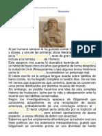 La leyenda de Gilgamesh, la primera epopeya de la Historia.docx