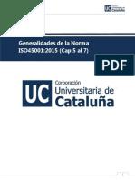 Generalidades De la Norma ISO45001:2015