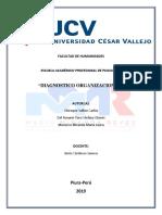 Dx Organizacional Desarrollo Organizacional