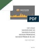 Navigon English Manual
