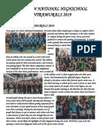 Sorsogon National Highschool Intramurals 2019