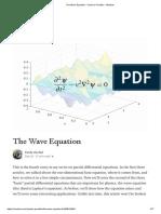 The Wave Equation - Cantor's Paradise - Medium
