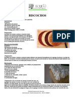 Curso de Pasteleria Biscocho
