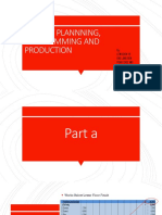 Project Plannning, Programming and Production