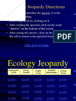 Ecology Jeopardy PPT