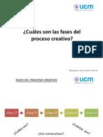 Clases Creatividad y Prototipado_Fases Del Proceso Creativo
