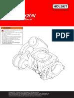 Holset HX20W Service Repair Manual