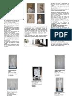 """Folheto da Exposição """"Arte Partilhada Millennium BCP – Abstracção"""""""