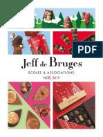 Catalogue Jeff de Bruges Ecoles Et Associations Noel 2019