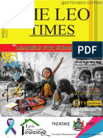 THE LEO TIMES | Vol 01 Issue 02