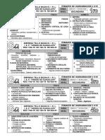 Temario Prueba de Subsanación de Cta 2 019 - 1ro a 4to