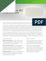 Especificaciones técnicas radio ePmP force 180 cambium networks