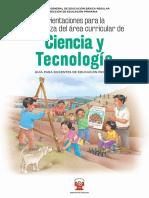 Procesos Didacticos Ciencia y Tecnologia