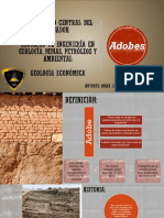 Produccion de Adobes