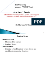 10 Teachers' Books
