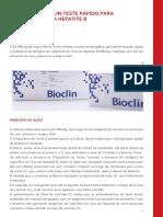 Manual HBsAg – Bioclin (2018)