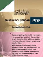 01. Pengantar Embriologi