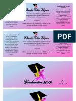 Invitacion de Graduacion
