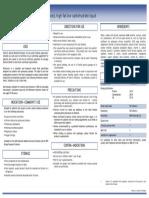Pulmocare Datasheet for Website
