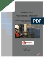 Informe Análisis Vibracional de Motor-Reductor  de un Molino de producción de Oxido de Pb