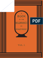 Massey - A Book of the Beginnings (Vol. I)