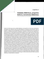 Cap 3 UD, Proyectos, Secuencias